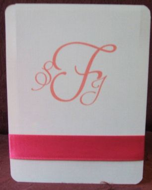 Custom Made Personalized Wedding Monograms- Anystyle To Fit Your Needs