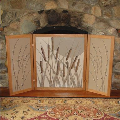 Custom Made Fireplace Or Tabletop Screen
