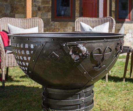 Custom Made Dream Weaver Fire Pit