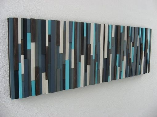 Custom Made Reclaimed Wood Art