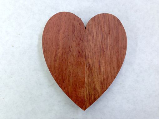 Custom Made Bloodwood Heart Christmas Gift