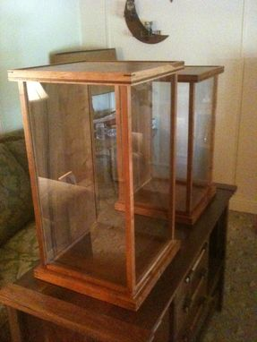 Custom Made Display Cabinet From Cherry