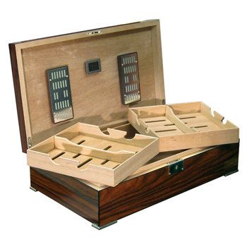 Custom Made Salvador 250-Count Brazilian Rosewood Cigar Humidor