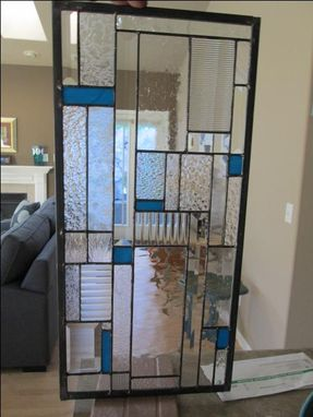 Custom Made Stained Glass Cabinet Door Insert