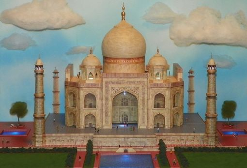 Custom Made Taj Mahal Diorama