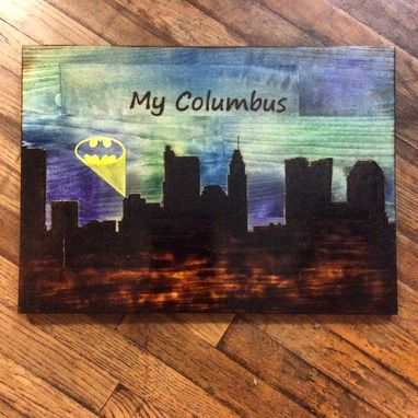 Custom Made My City Skyline Art
