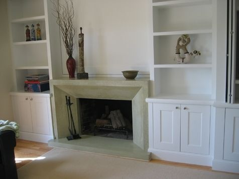 Custom Made Distinctive Kentfield Fireplace