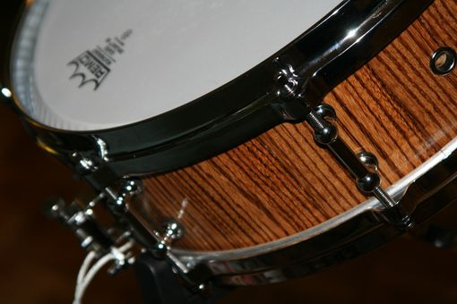 Custom Made Zebrawood Piccolo Snare Drum