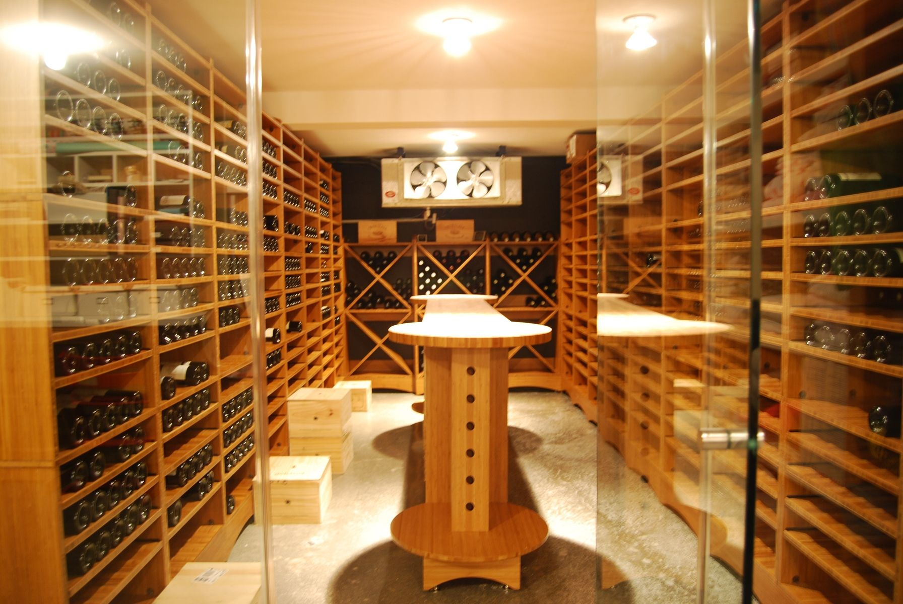 Wine Cellar Kitchen Floor Custom Wine Room Custommadecom