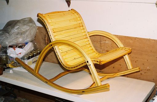 Custom Made Whitewood Rocker