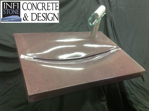 Custom Made Concrete Sinks