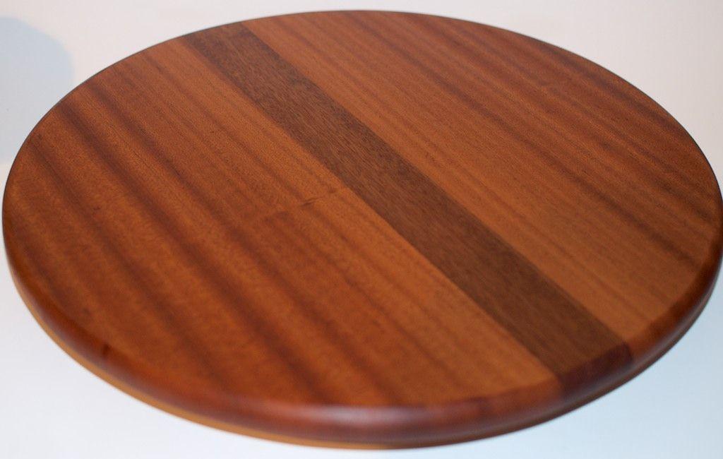 Buy A Custom Made Wood Lazy Susan Decorative Mahogany