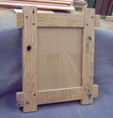 Custom Made Reclaimed Wood Picture Frames 8 X10'S