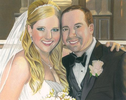 Custom Made Wedding Portrait