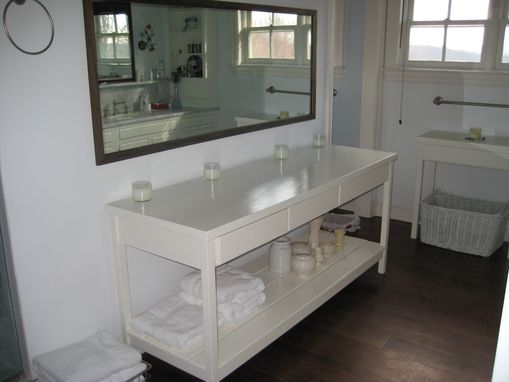 Custom Made Bathroom Tables