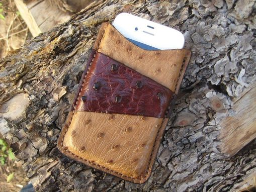 Custom Made Exotic Leather Phone Case