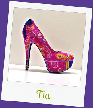Custom Made Tia High Heel