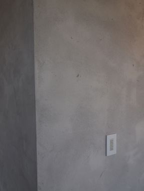 Custom Made Artisan Lime Plaster In Concrete Style