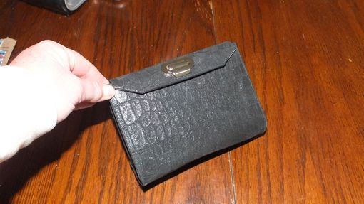 Custom Made Small Leather Clutch