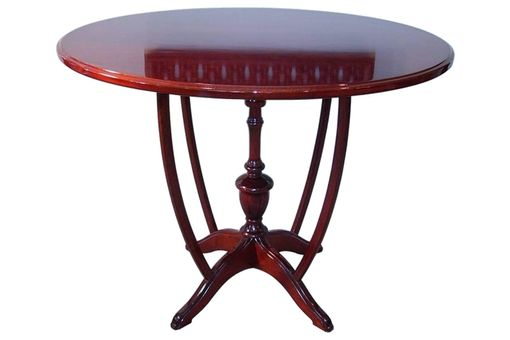 Custom Made Oval Parlor Table