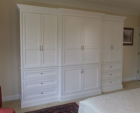 Custom Made Built In Wardrobe Armoire By J Amp S Woodworking