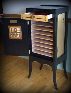 Custom Made C-Clef Sheet Music Cabinet