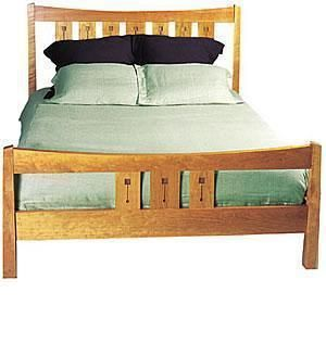 Custom Made Glasgow Queen Bed