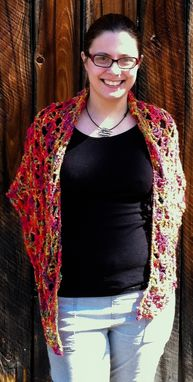 Custom Made Firebird Shawl