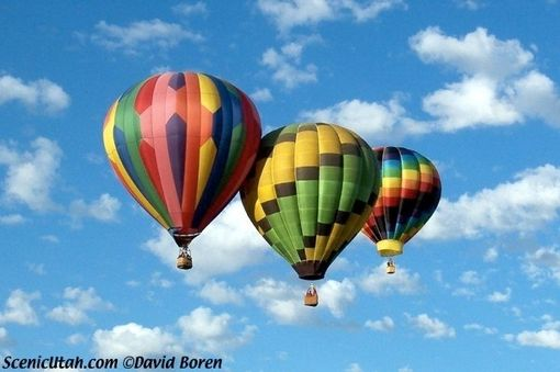 Custom Made Miniature Hot Air Balloons