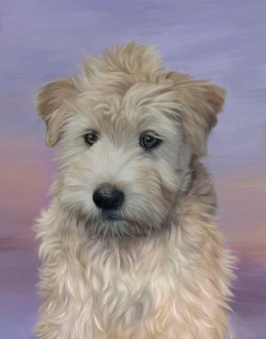 Custom Made Gorgious Custom Pet Portrait Painting On Canvas Or Watercolor Paper