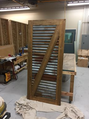 Custom Made Rustic Barn Door