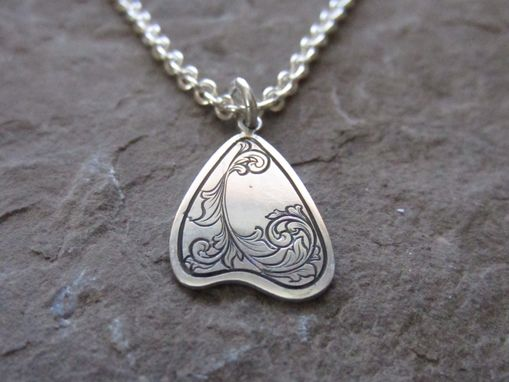 Custom Made Scroll Pendant #3