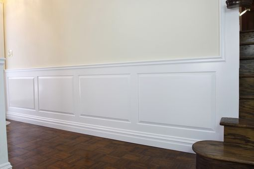 Custom Made Raised Panel Wainscoting 2