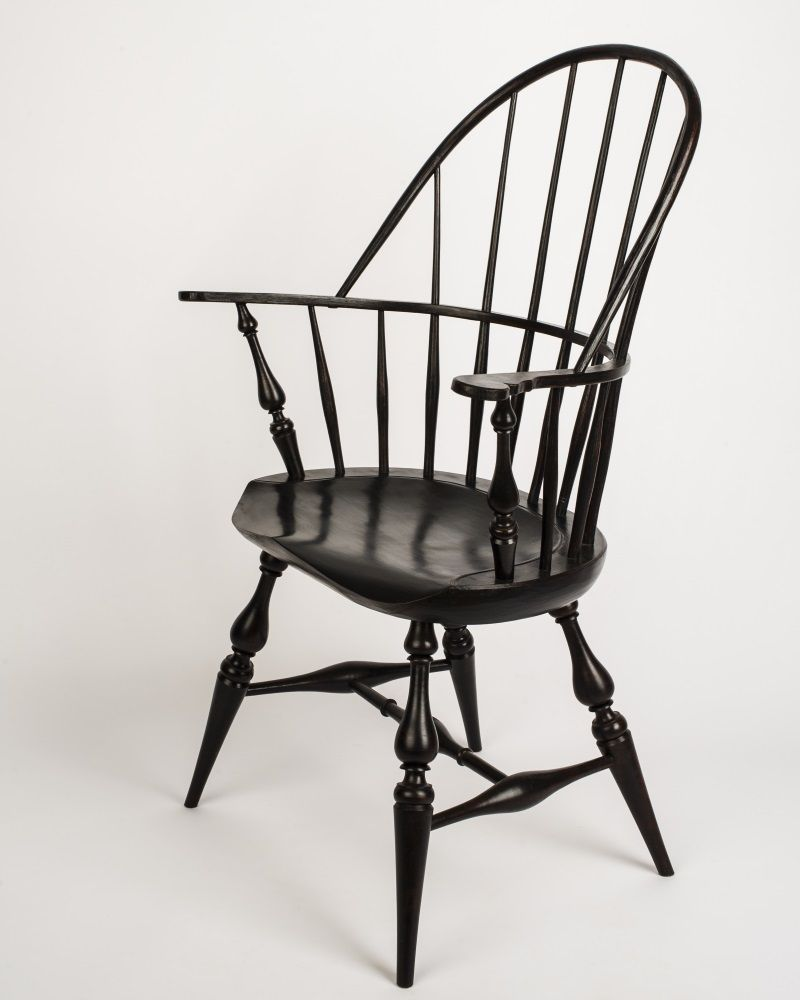 Buy a Hand Made Sack Back Windsor Arm Chair, made to order ...