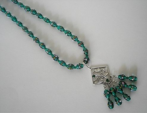 Custom Made Emerald Green Necklace