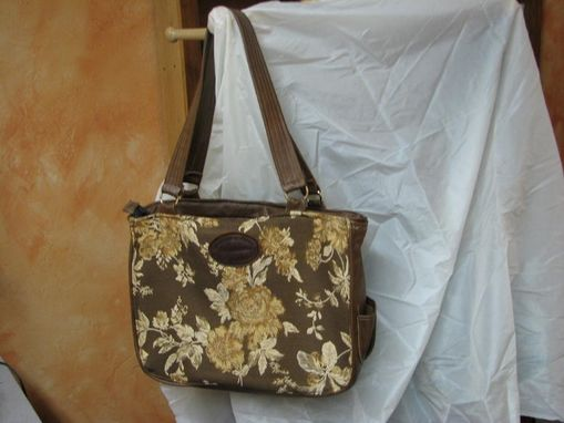 Custom Made Flowered Tote
