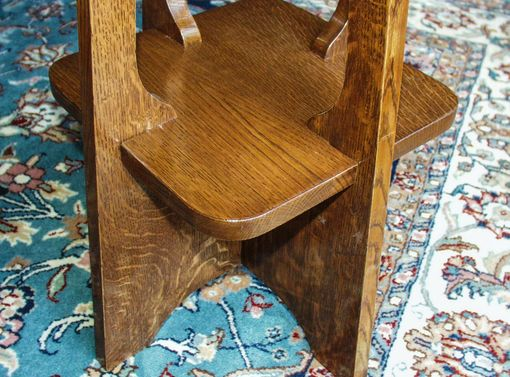 Custom Made Arts And Crafts Tabouret Table