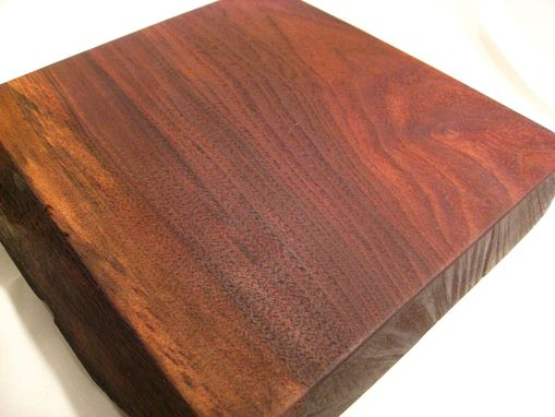 Custom Made Live Edge Black Walnut Cutting Board/Serving Plate