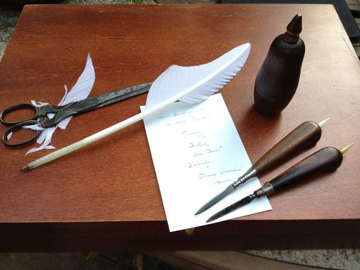 Custom Made 18th Century Quill Knife Reproduction