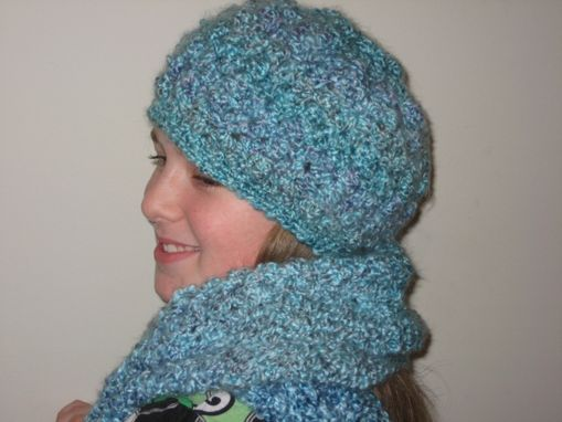 Custom Made Crochet Hat And Scarf Set Made To Order