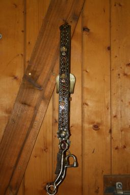 Custom Made Belt Headstall