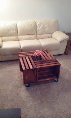 Custom Made Crate Coffee Table