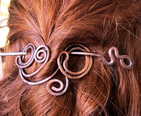 Custom Made Wirework Hair Clip /Price Is Approx/ Metal/ Custom Made / Made To Order.