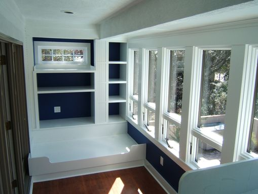 Custom Made Built-In Bunk Beds