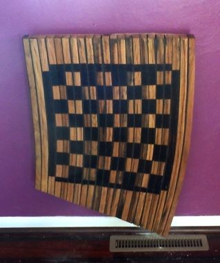 Custom Made Checkerboard Table