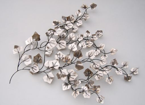 Custom Made Stainless Steel Ivy Leaves