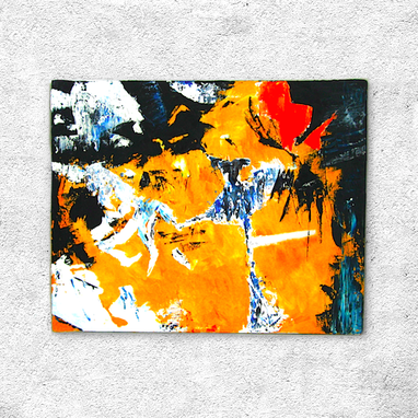 Custom Made Synesthesia - Abstract Oil Paintings - Mouna Bowa Extract 2