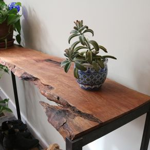 Reclaimed Wood Entry Tables Hall Tables And Accent Tables