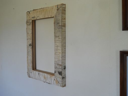 Custom Made Birch Bark Frame