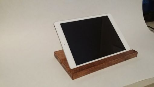 Custom Made Custom Maple Ipad Tablet Stand/Dock